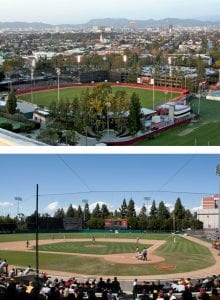 Athletic Facility, Dedeaux Field - Baseball stadium exterior - athletic facility
