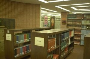 Library, VKC library - interior