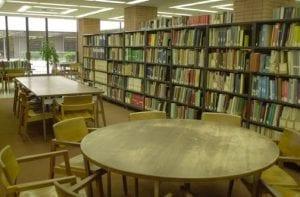 Library, VKC library - interior