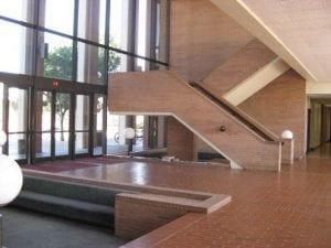 Lobby, GFS lobby and study area