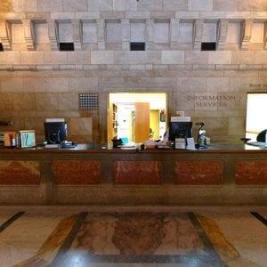 Library, Doheny Library - interior