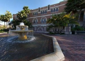 Fountain, Doheny Fountain, McCarthy Quad
