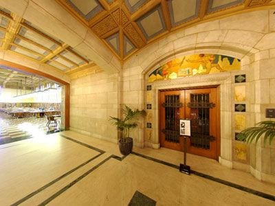Hallway, Doheny Library, First Floor Hallway
