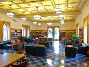 Library, Doheny Library Humanities Reading Room