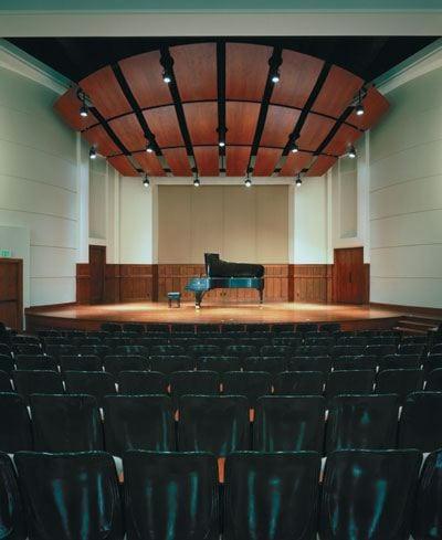 Auditorium, Newman Recital Hall