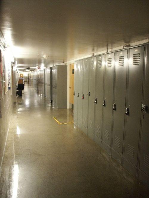 Hallway, DEN Basement Hallway
