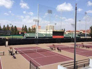 Athletic Facility, Tennis stadium exterior - athletic facility