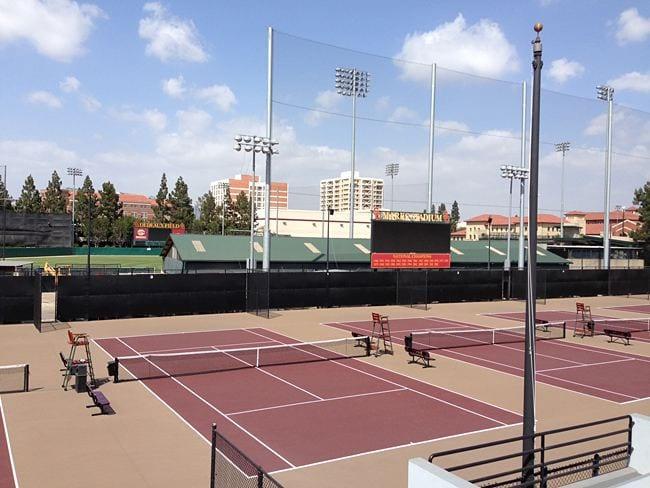 Athletic Facility, Tennis stadium exterior - athletic facility