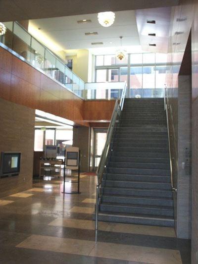 Staircase, Tutor Hall Lobby