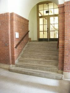 Staircase, ZHS Courtyard, Exterior Stairs
