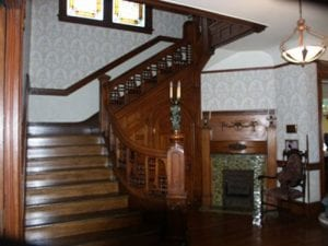 Staircase, Cockins House, Main Staircase