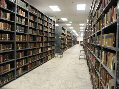 Library, Grand Avenue Bookstacks