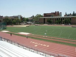 Athletic Facility, Cromwell Field - Shot put area; Athletic Facility- Track and Field exterior