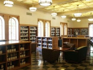 Library, Humanities Reading Room