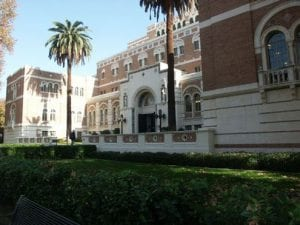 Building Exterior (brick), Doheny Exterior - Adjacent to Alumni Park