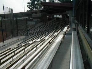 Athletic Facility, Dedeaux Field - Baseball stadium (seating) exterior - athletic facility