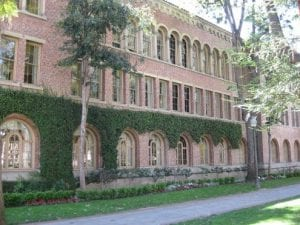 Building Exterior (brick), Bovard Exterior at Founders Park