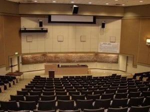 Lecture Hall, SGM 123 & SGM 124 - large auditorium style lecture halls