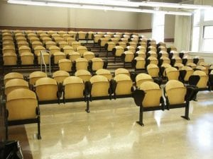 Lecture Hall, ZHS 159 - Tiered Lecture Hall