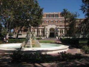 Courtyard, Alumni Park Fountain