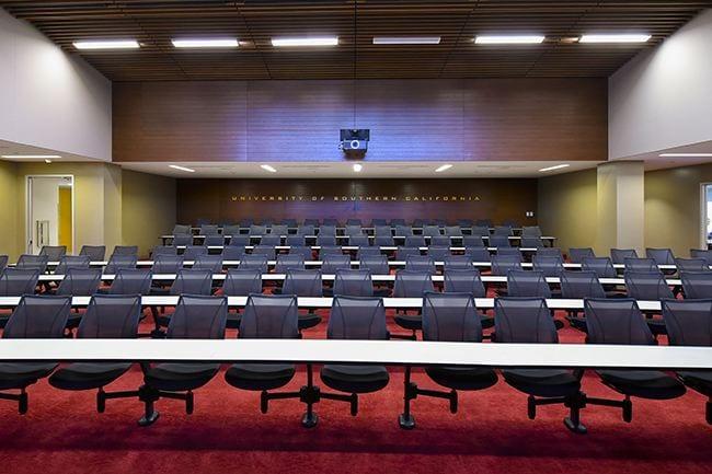 Auditorium, John McKay Center Team Room