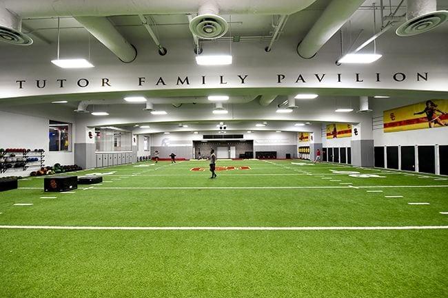 Athletic Facility, John McKay Indoor Field