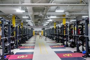 Athletic Facility, John McKay Weight Room