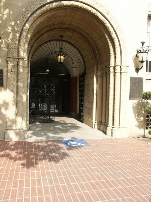Courtyard, ZHS Courtyard Entrance - exterior
