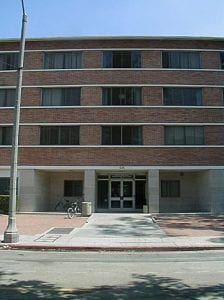 Building Exterior (modern), EVK dorm-exterior newer Building - modern - brick