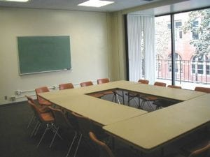 Conference Room, Mudd Hall of Philosophy 102- conference room - meeting room - classroom