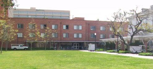 Building Exterior (modern), Marks Hall - exterior Dorm