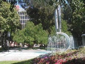 Fountain, Pascale Fountain exterior