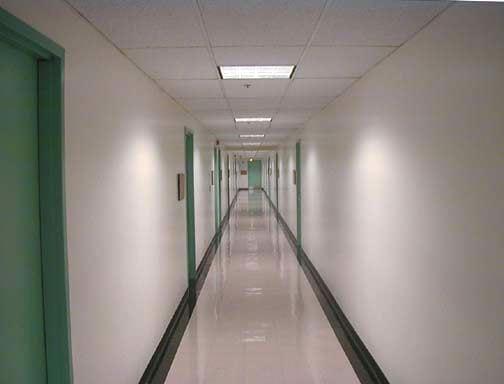 Hallway, KAP Hallway - interior