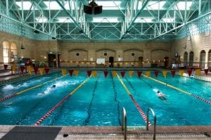 Athletic Facility, Pool (indoors) interior - athletic facility