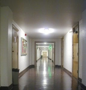 Hallway, PED Basement Hallway - interior