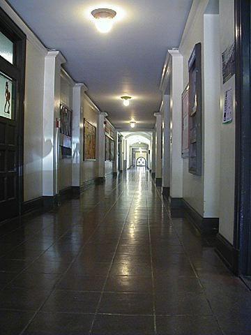 Hallway, PED Hallway interior