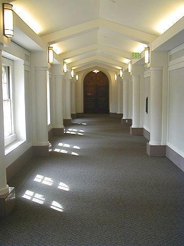 Hallway, Administration Building, 2nd floor hallway - interior