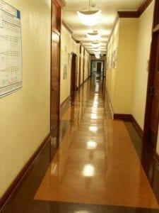 Hallway, ZHS Hallway - interior