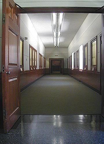 Hallway, Hancock building hallway interior