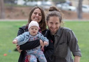 Giorgia Quadrato and family (Photo by Cristy Lytal)