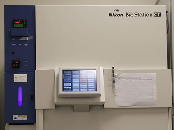 Nikon BioStation CT (Photo by Cristy Lytal)