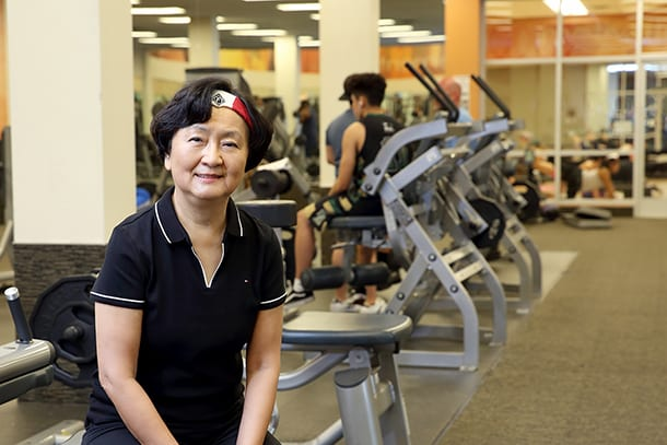 Physical therapy study helps woman recover after a mugging