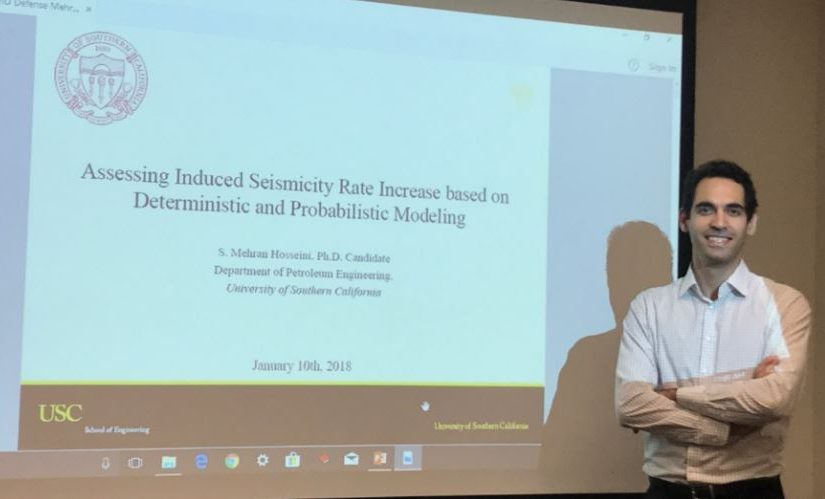 Mehran Hosseini successfully defended his Ph.D. Dissertation