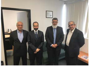 Kuwait Oil Company Delegation visit USC