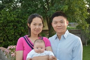 Zhongwei Li and family (Photo by Sergio Bianco)
