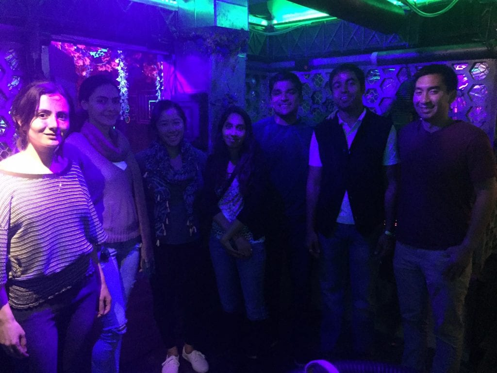 Escape Room in May 2018 for Dr. Gupta's Birthday.