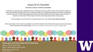 Library & TLC Charrette Invitation