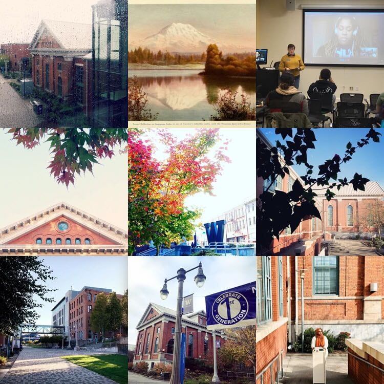 Top UW Tacoma Instagram posts for the first part of the 2018-19 school year.