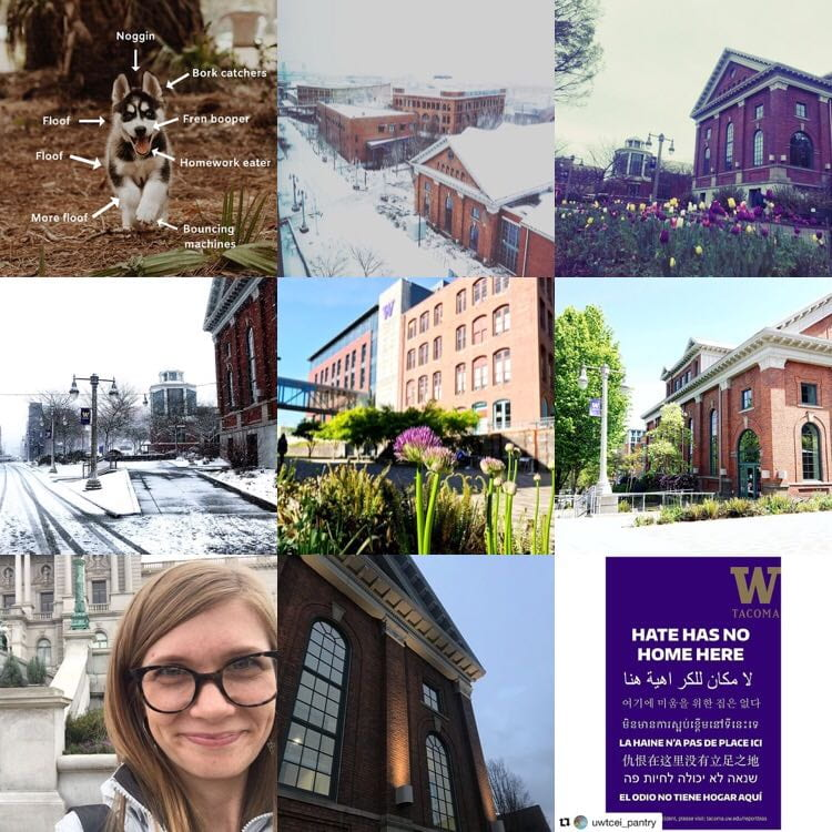 Top UW Tacoma Instagram posts for the second part of the 2018-19 school year.