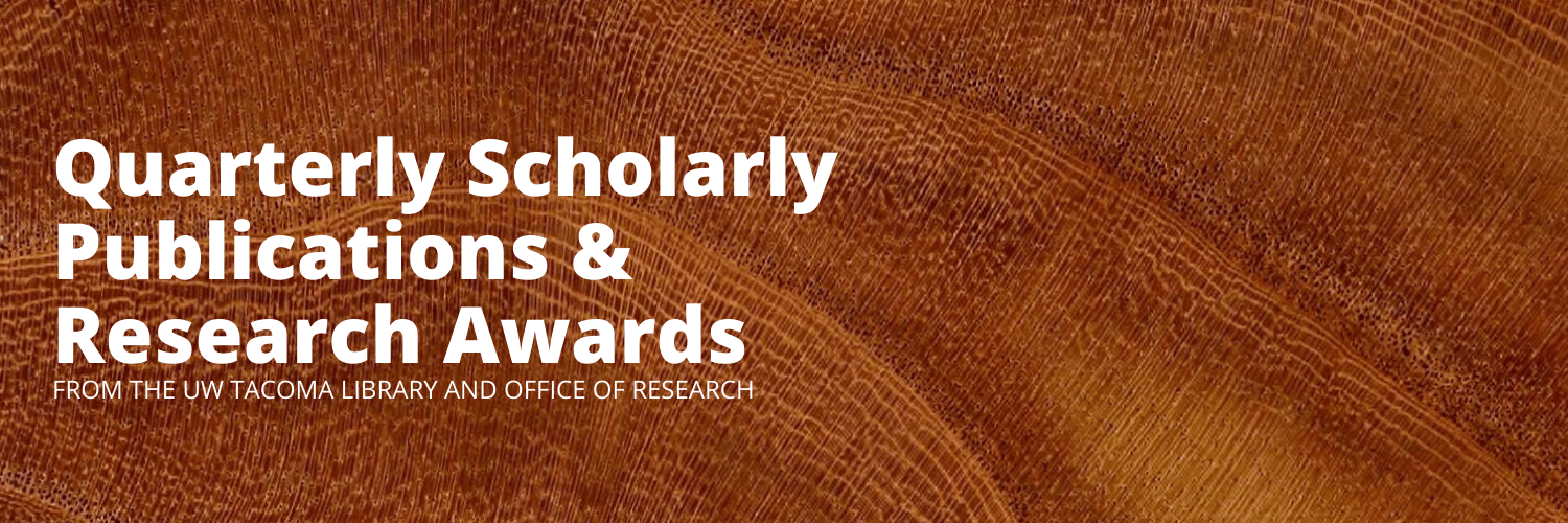 Banner Quarterly Scholarly Publications & Sponsored Research